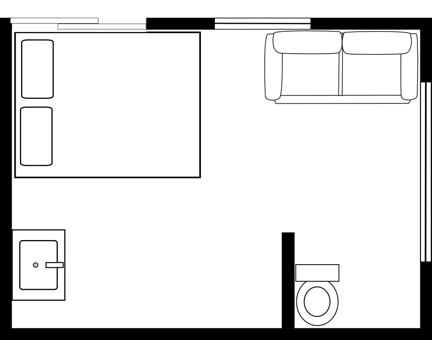 Office Furniture Symbols For Floor Plans: Assembly Diagrams, Floor Plans And Packaging