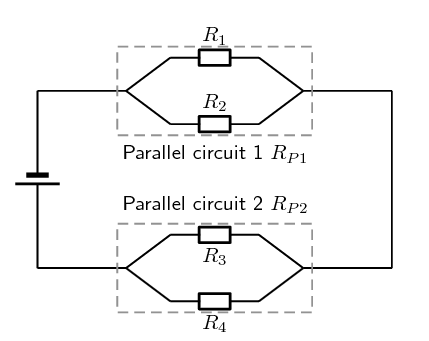A Parallel Circuit Diagram | Evaluating Internal Resistance In Circuits Electric Circuits