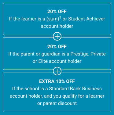 the Standard Bank discount calculation